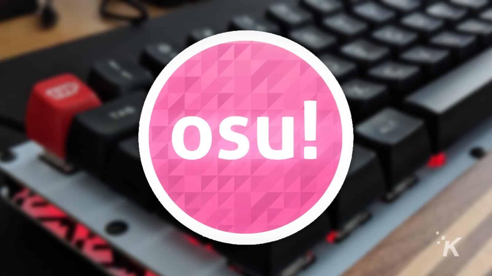 best mechanical keyboard for osu