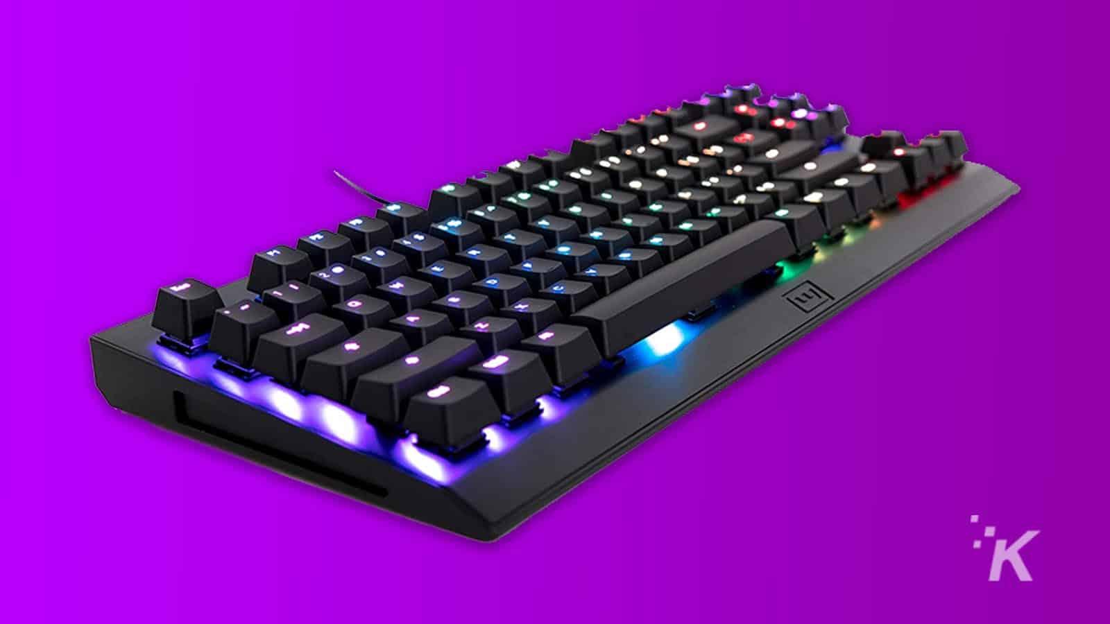 ortho-mechanical keyboard