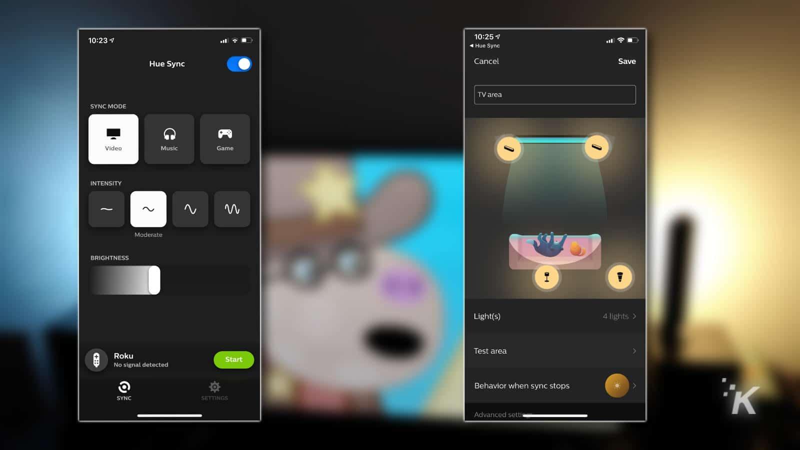 philips app features