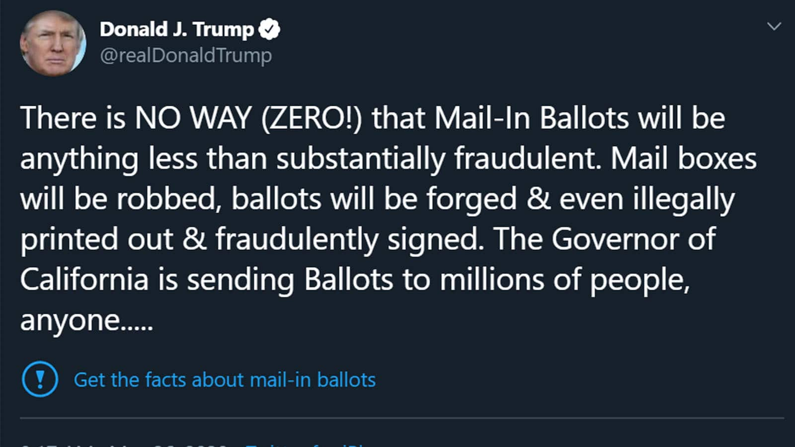 trump voter fraud