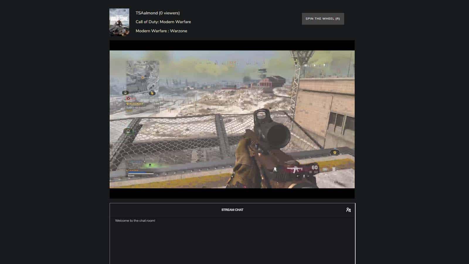 twitch roulette on desktop