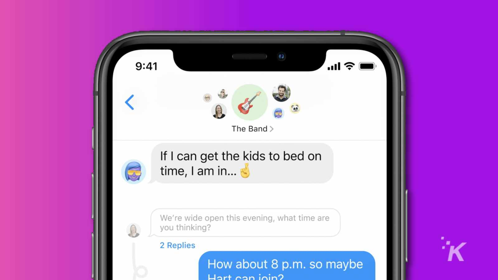 apple ios 14 messages.