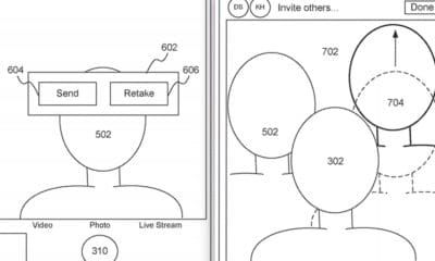apple patent for group selfies