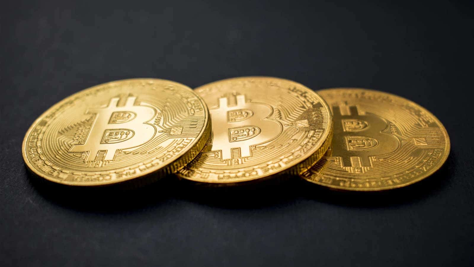 bitcoin cryptocurrency on table