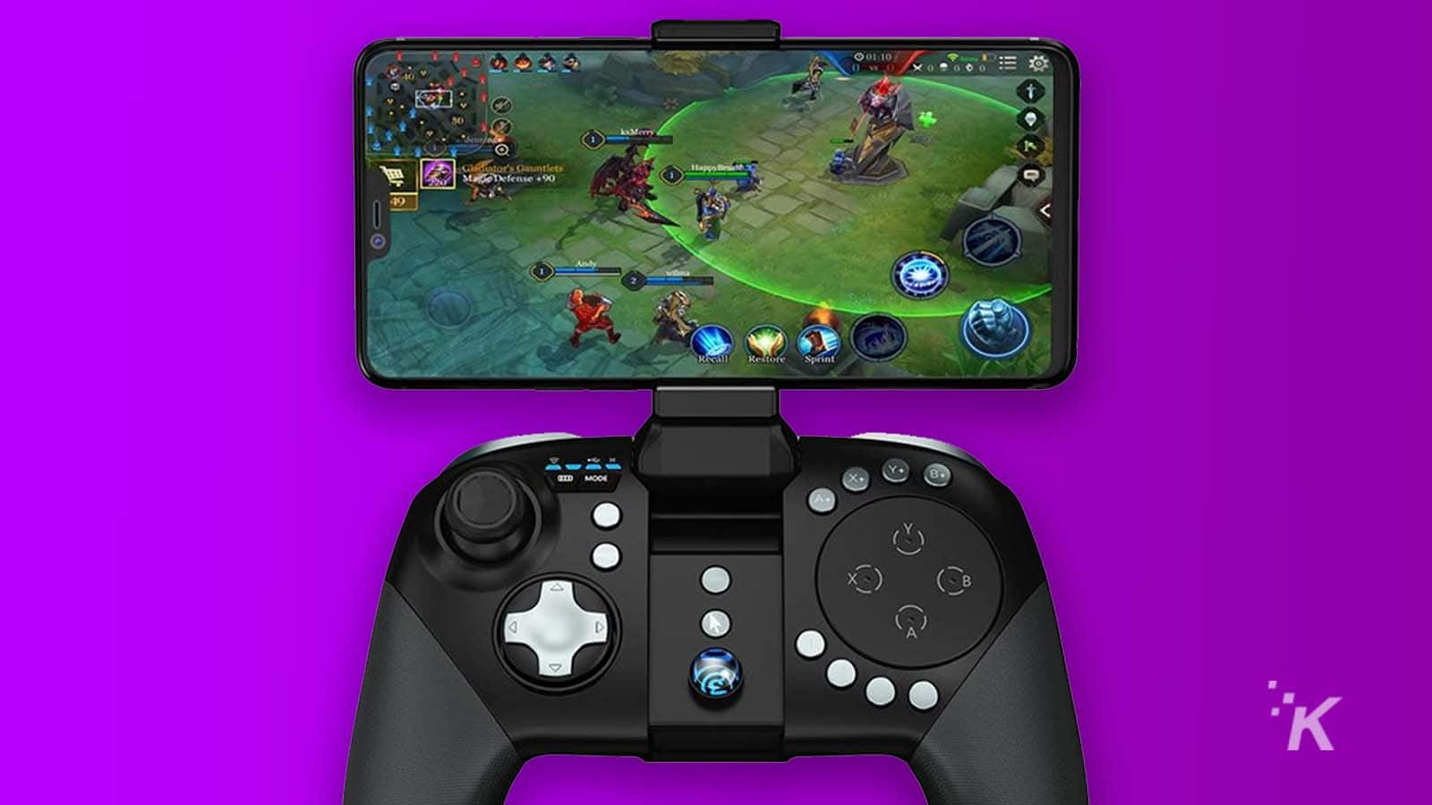 bluetooth controller for mobile games