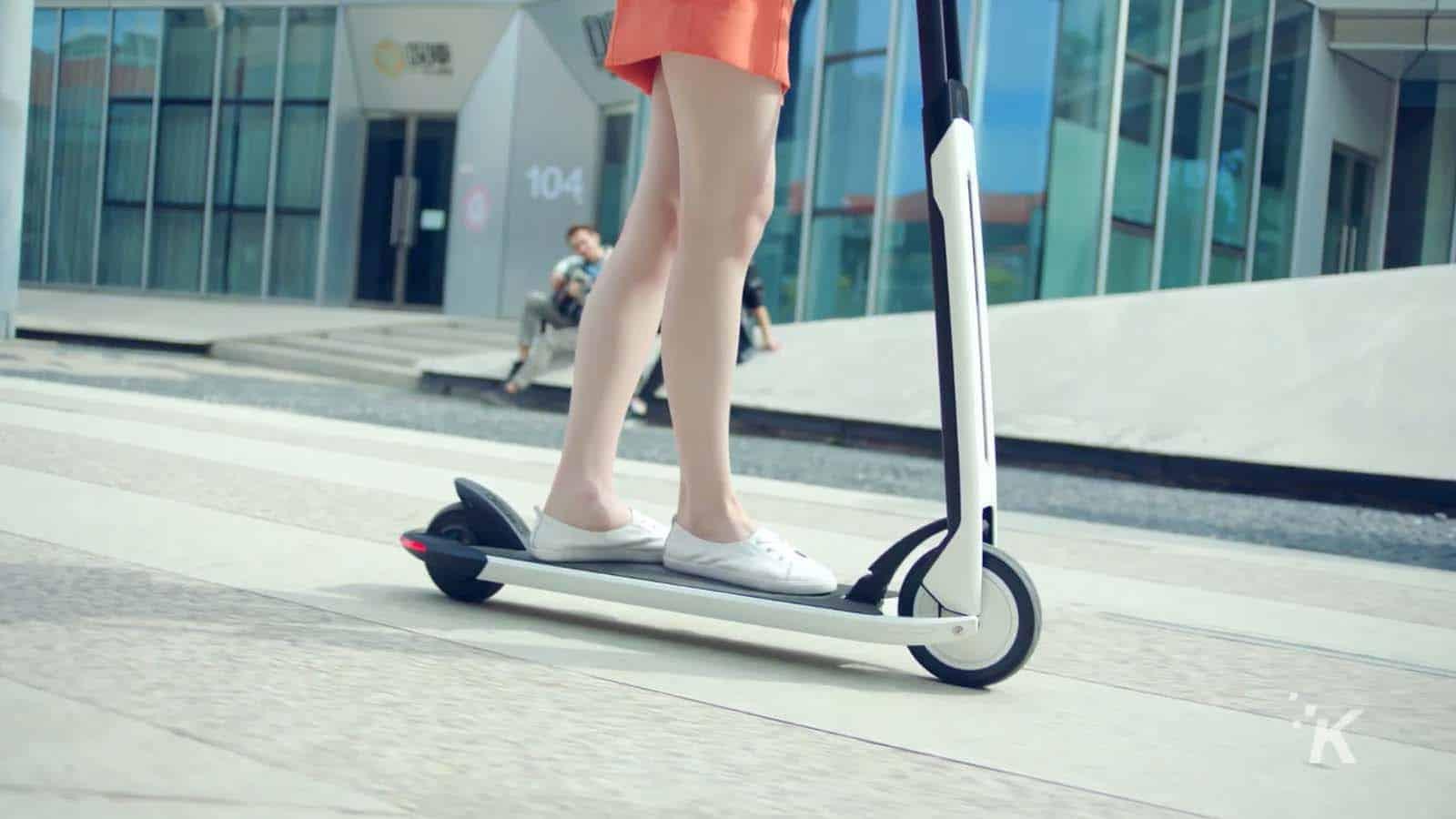 segway crowdfunding scooter