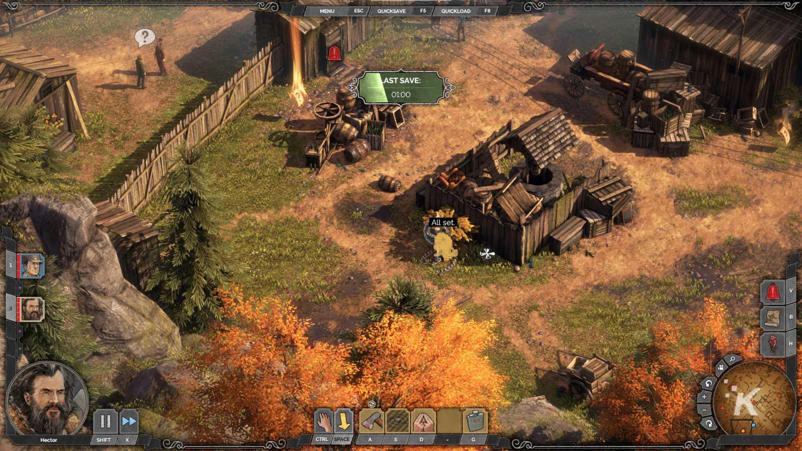 desperados iii gameplay