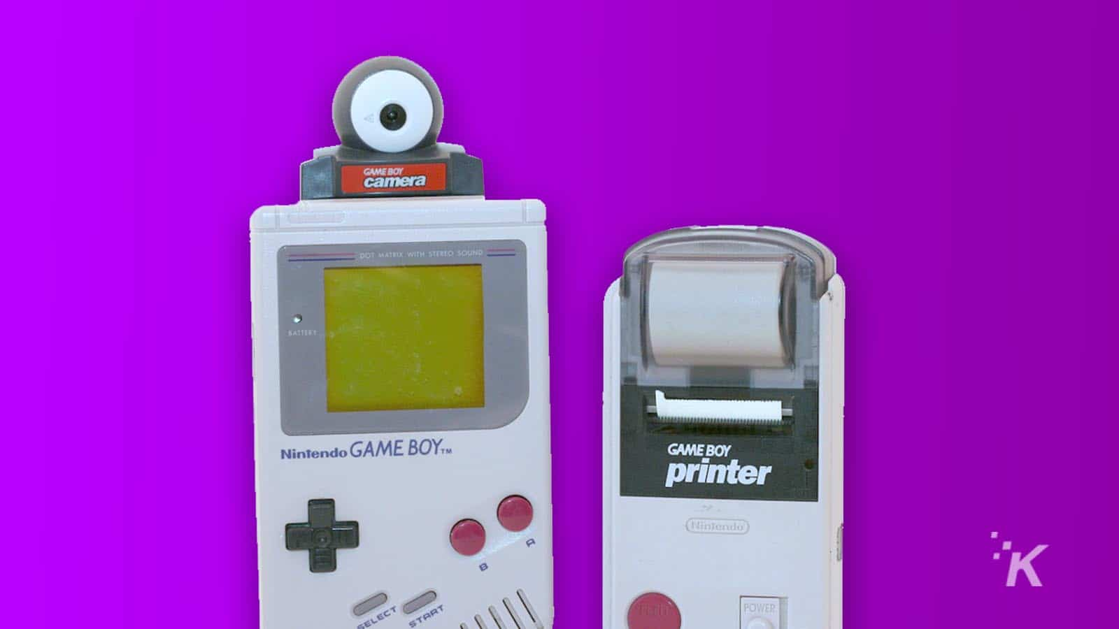 game boy printer and camera