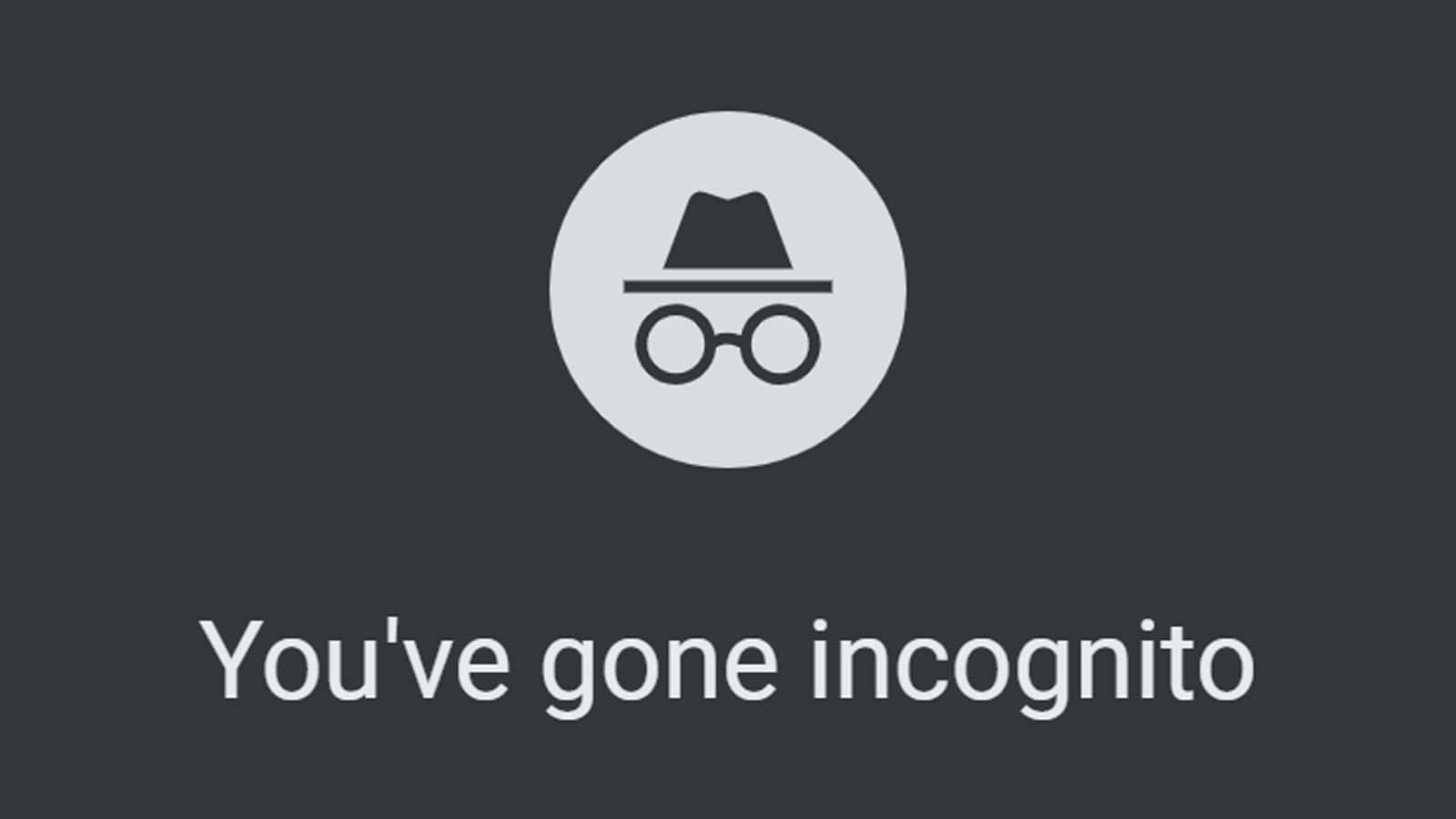 google incognito mode logo