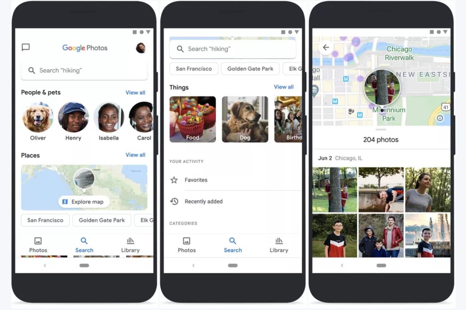 google photos app redesign