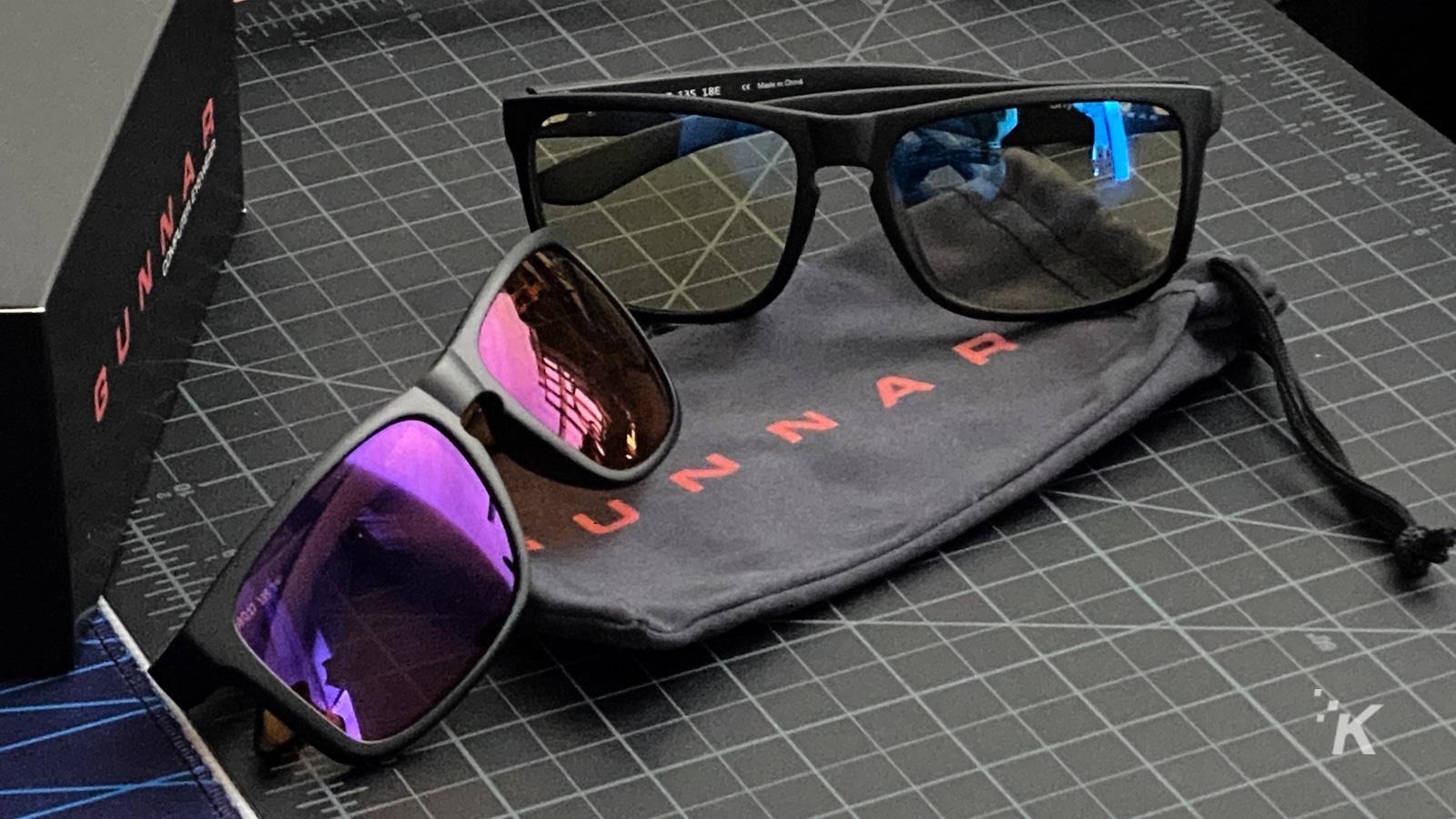 gunnar optiks blue light blocking glasses