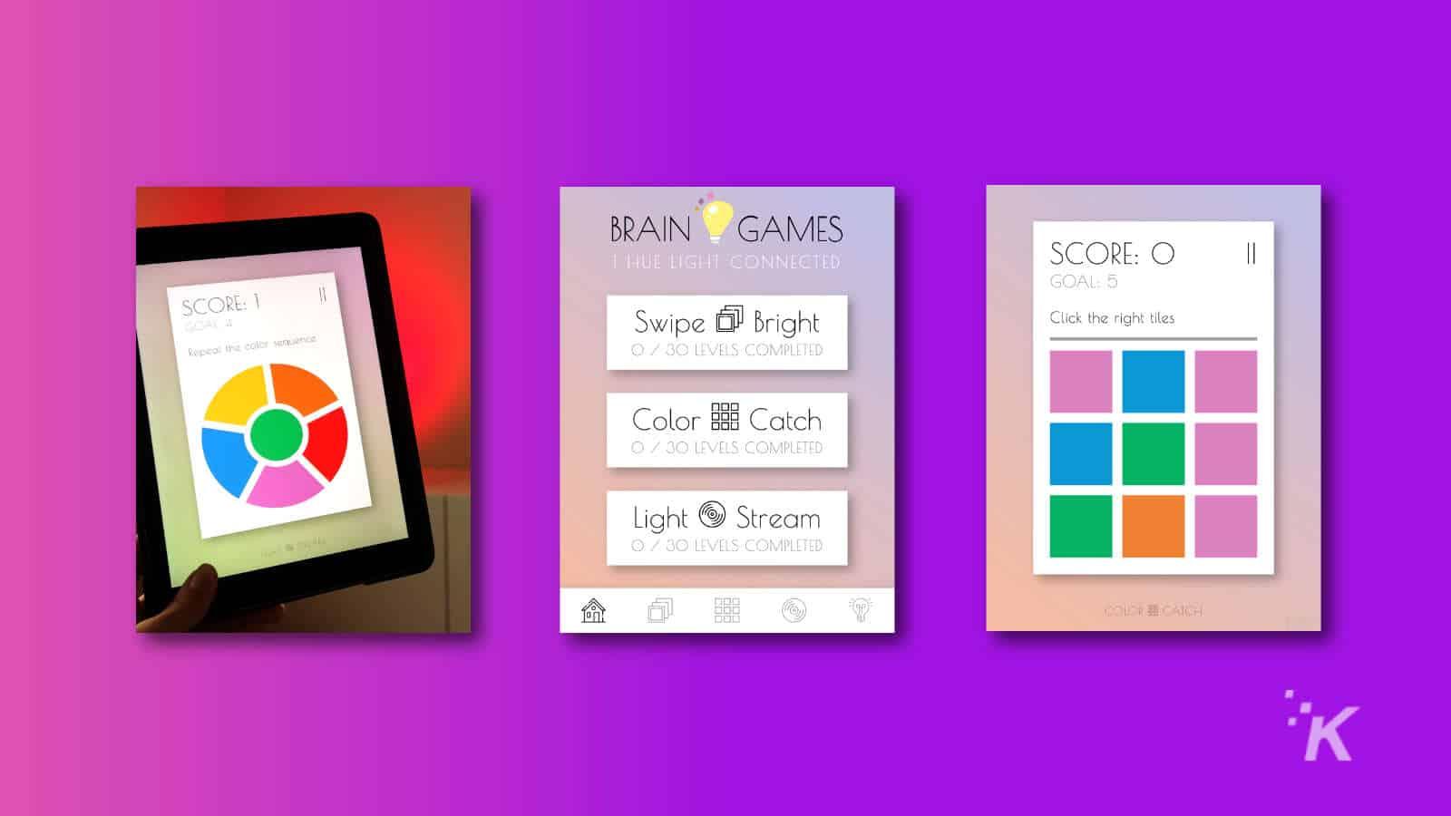 hue brain training app