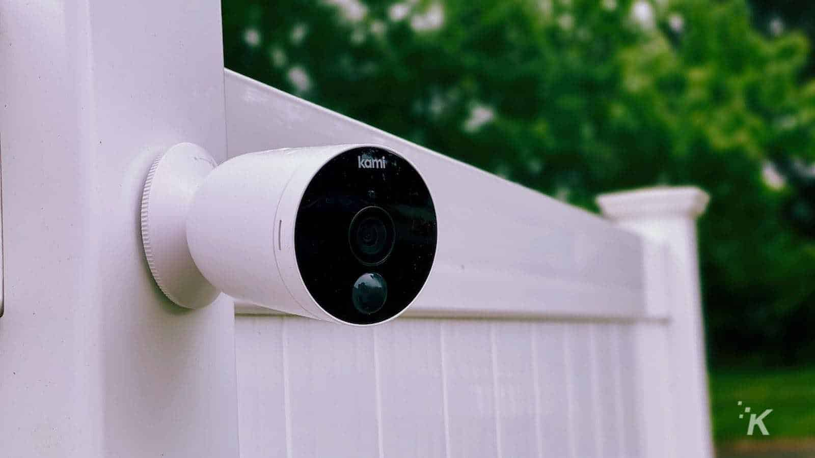 kami wire free outdoor cam