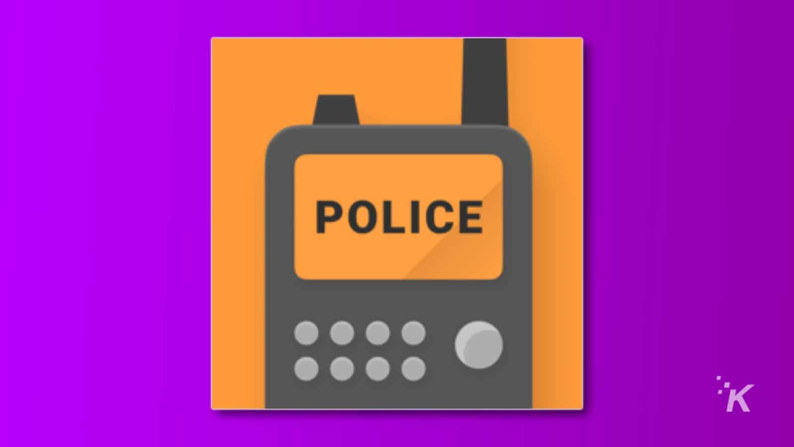 police scanner live police app icon