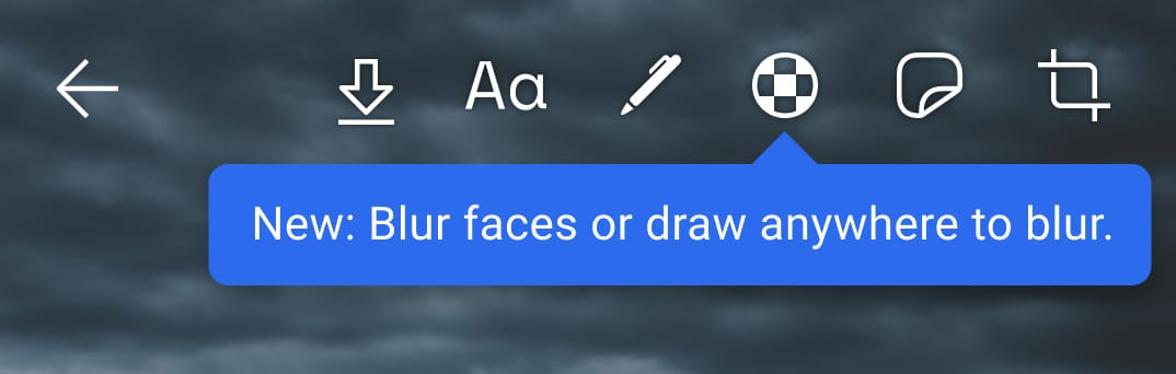 how to blur faces in signal