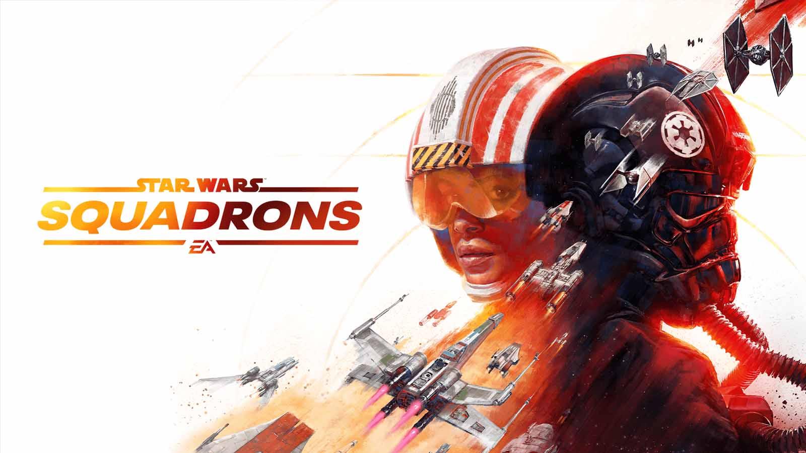 star wars squadrons main logo