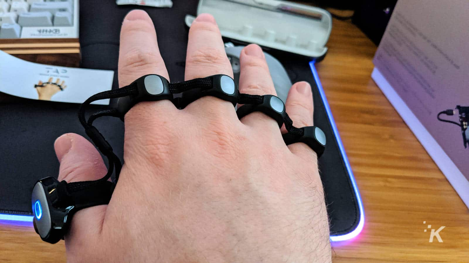 tap strap 2 bluetooth typing device