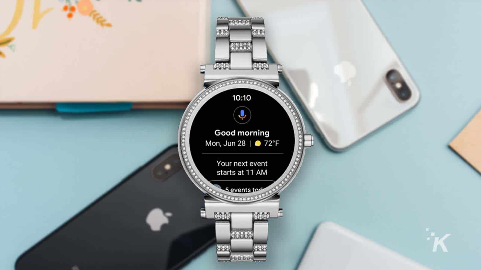 android watch with iphone
