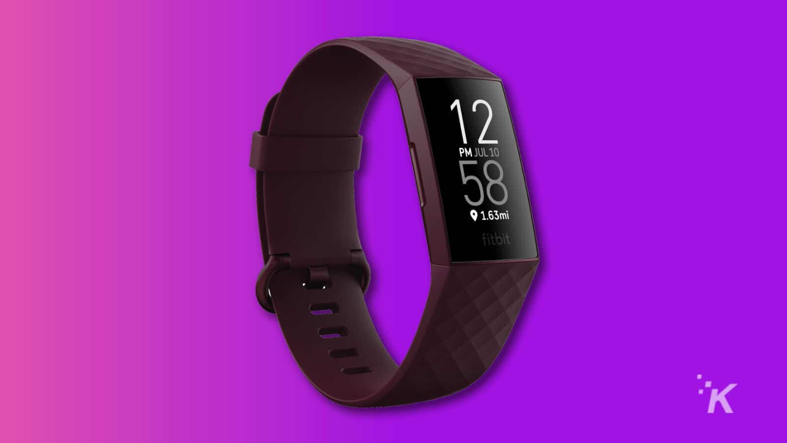 fitbit charge 4 smartwatch