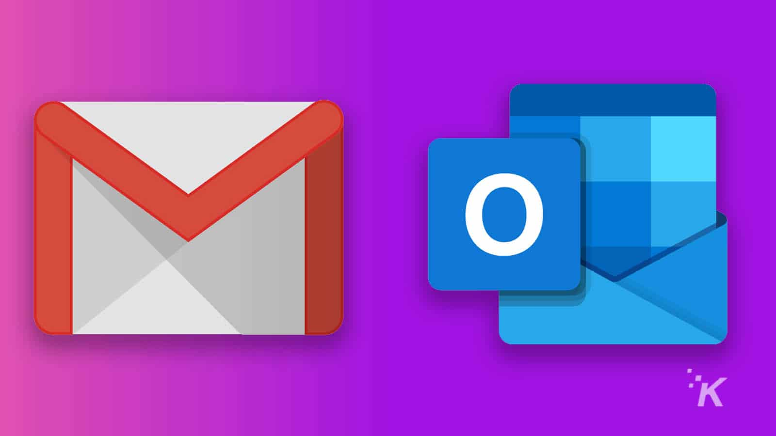 email logos for gmail and outlook