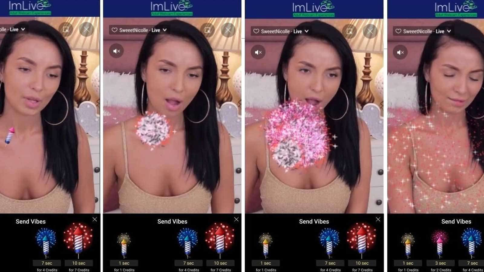 imlive fireworks feature