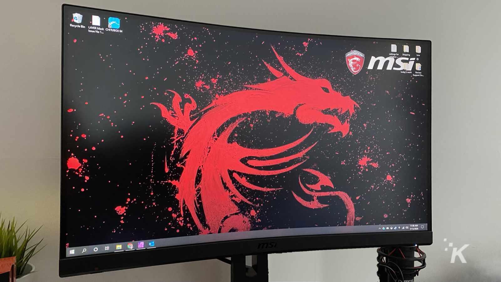 msi mag272crx monitor