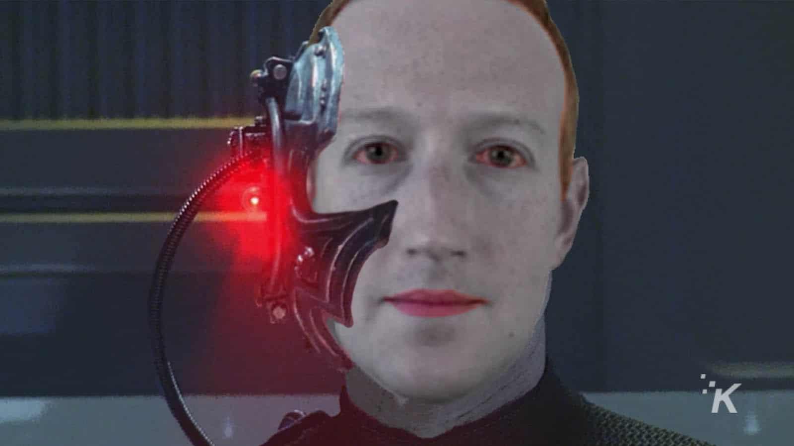 mark zuckerberg as a borg
