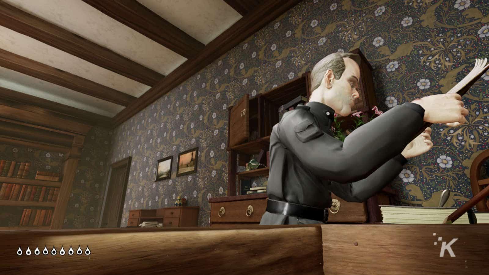 secret policeman in metamorphosis game