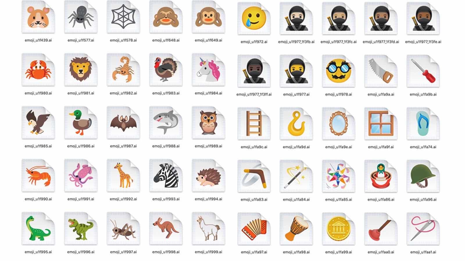 new android emoji 2020