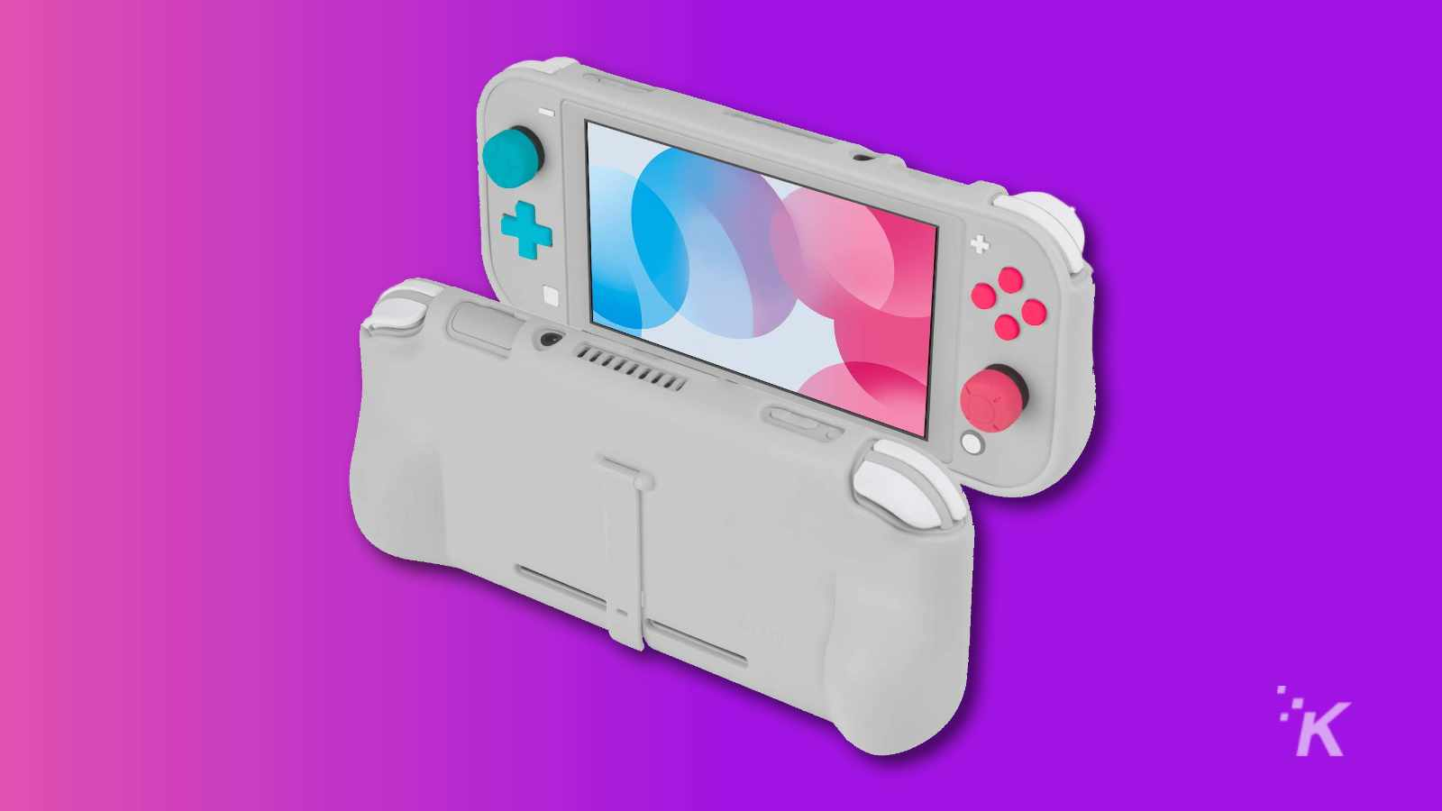 grip case for nintendo switch lite