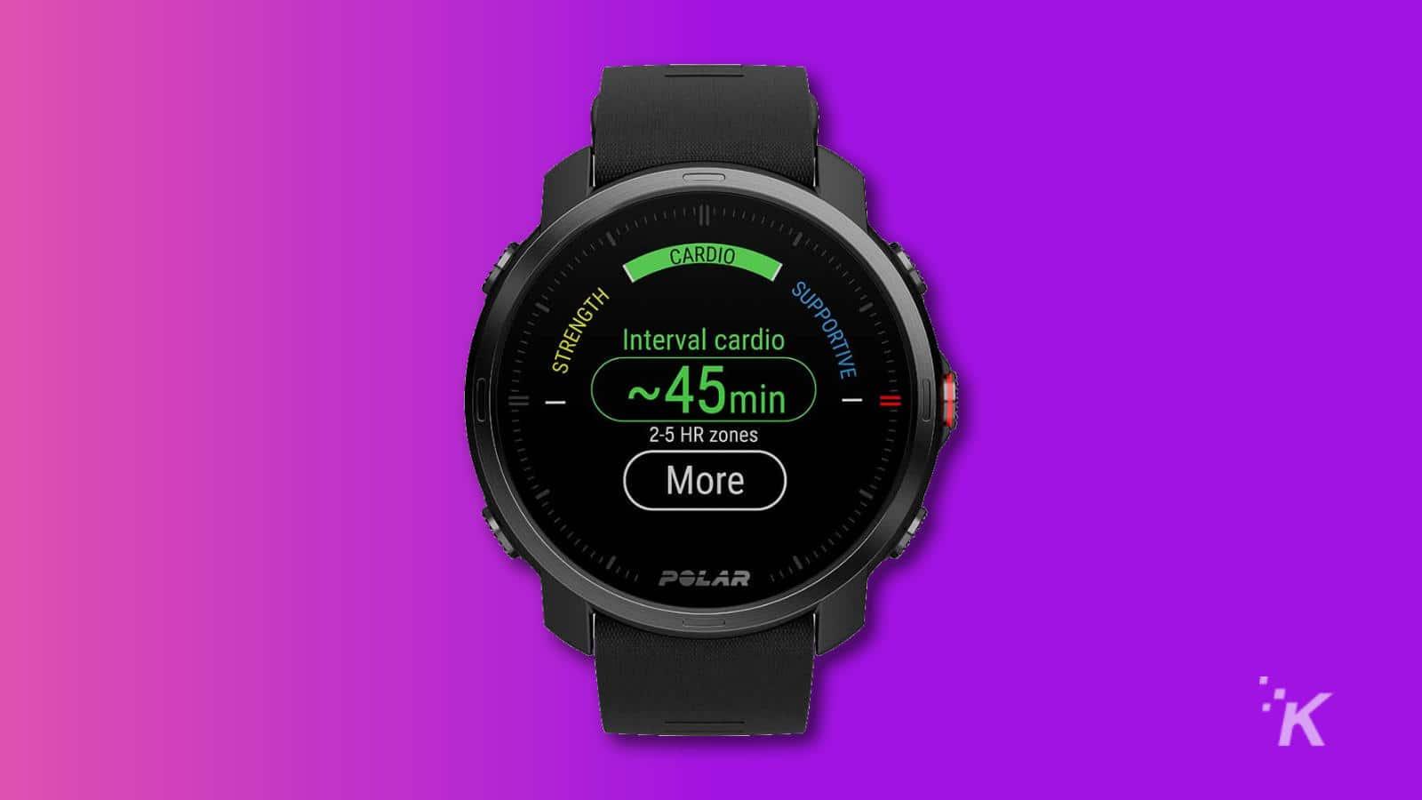 polar grit smartwatch
