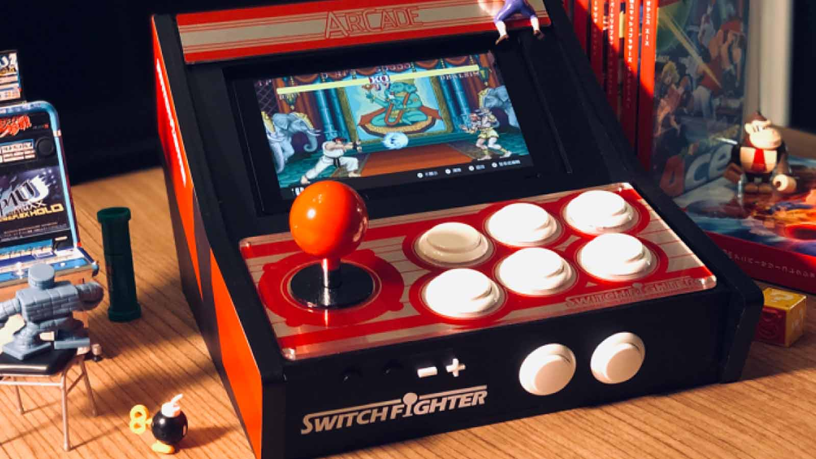 switch fighter crowdfunding campaign