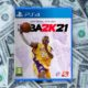 box art for the video game nba 2k21