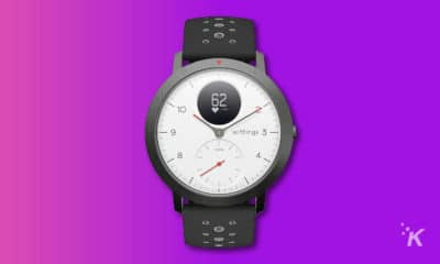 withings hr sport hybrid smartwatch