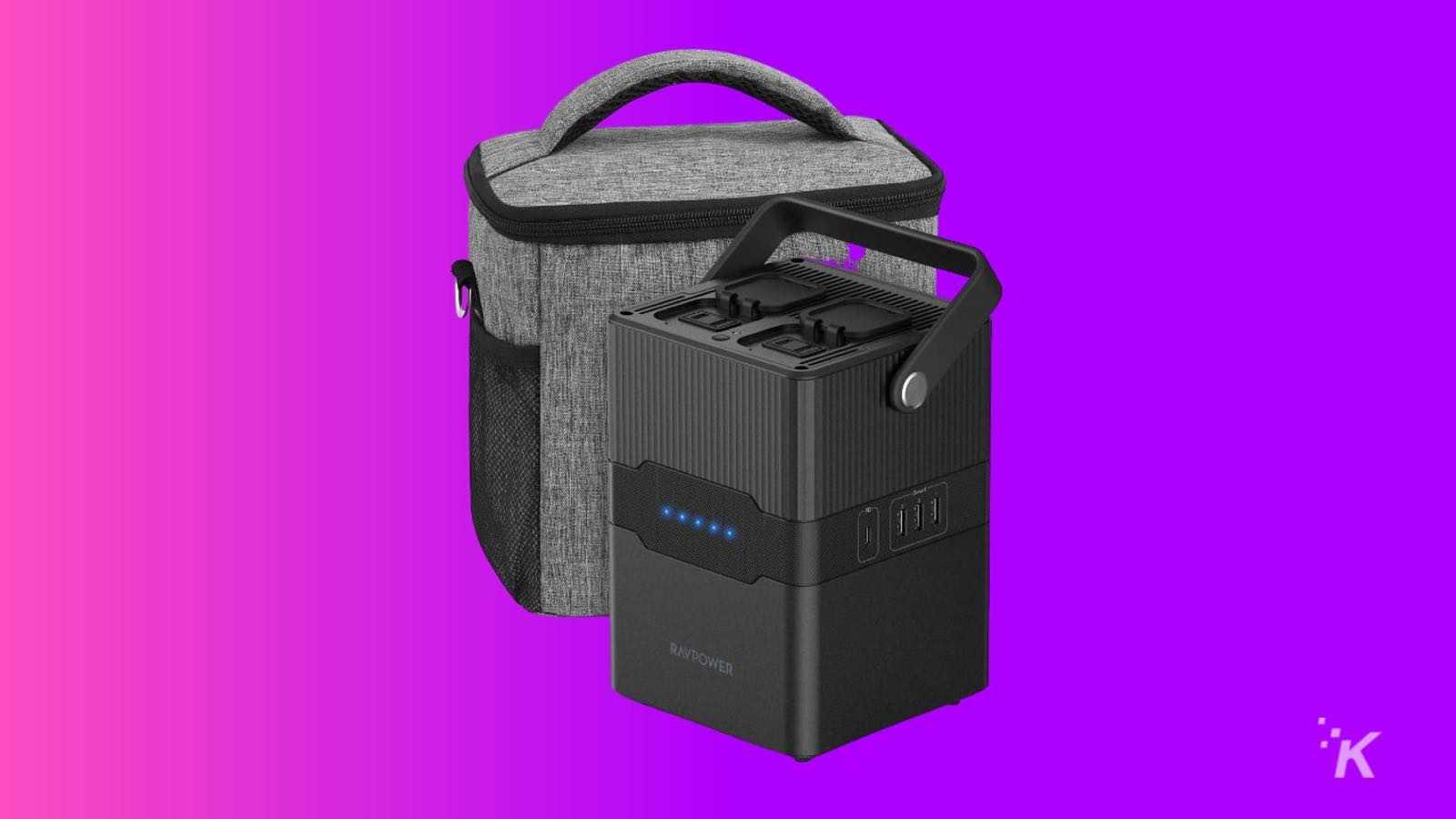 RAVPower portable charging station