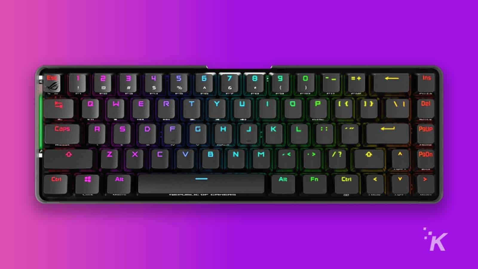asus falchion gaming keyboard