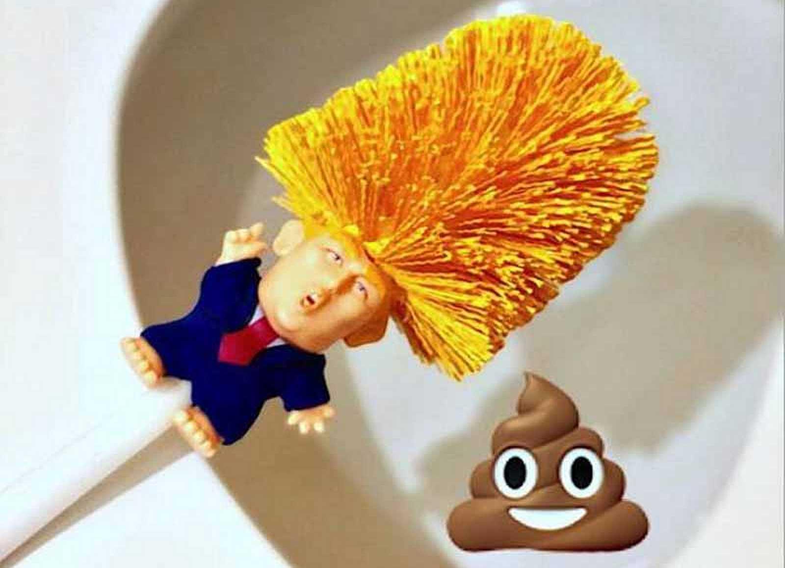 donald trump toilet cleaner