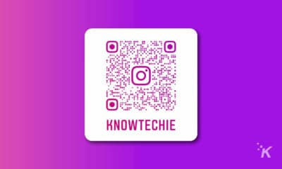 knowtechie instagram qr code