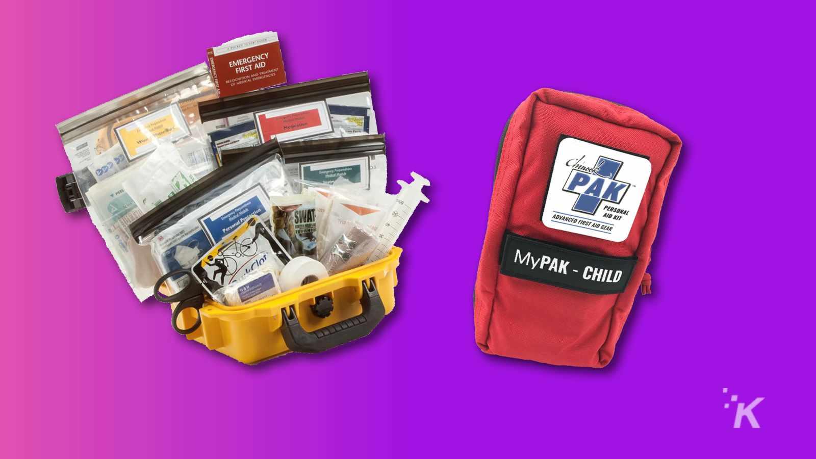 my-pak first aid kit