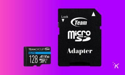 team 128gb microsd card