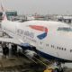 boing 747 400 at Heathrow Airport