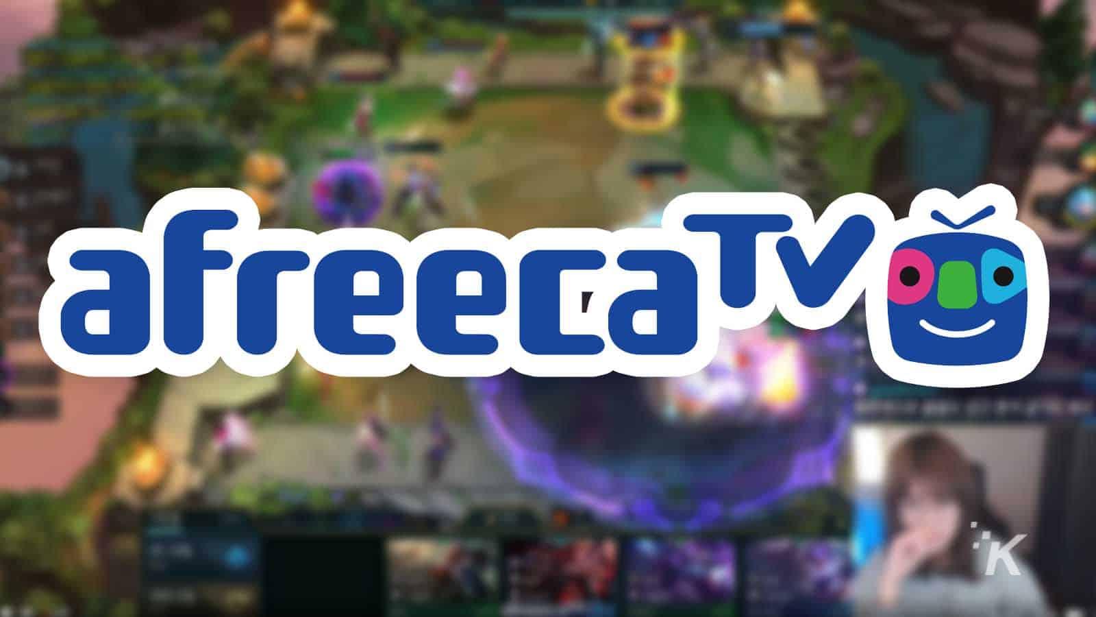 afreecatv streaming service