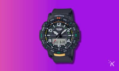 casio pro trek connected watch