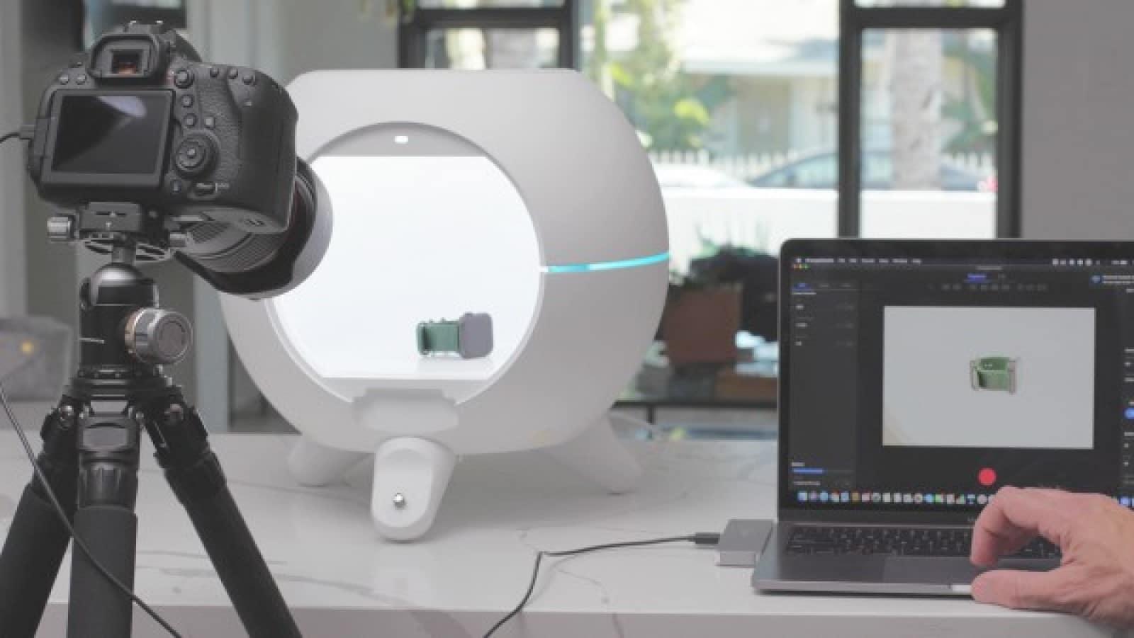 foldio360 smart dome photo booth
