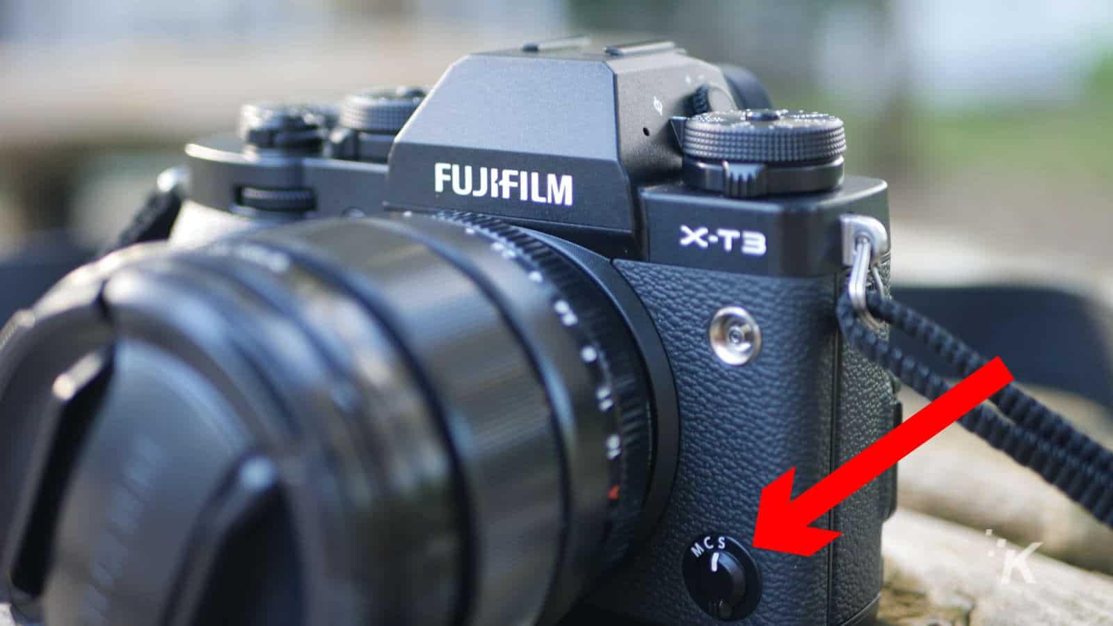 fujifilm xt-3 camera