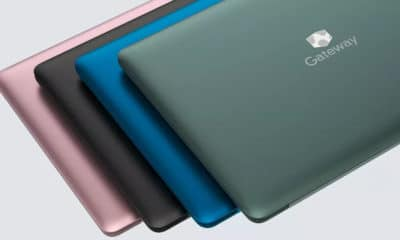 gateway laptops in different colors