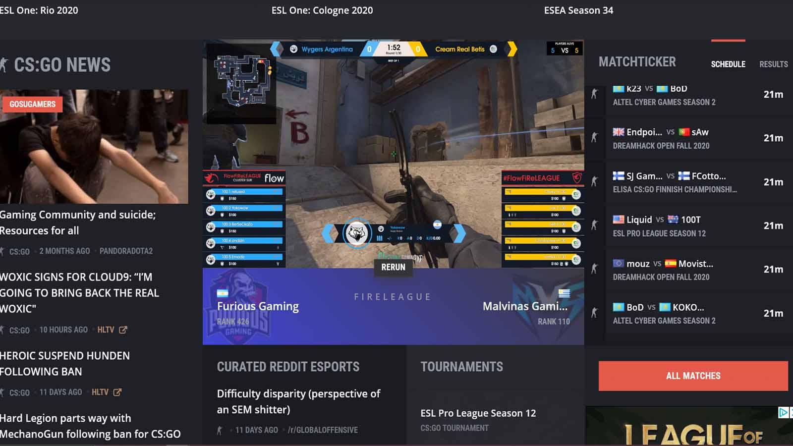 gosugamers livestreaming platform