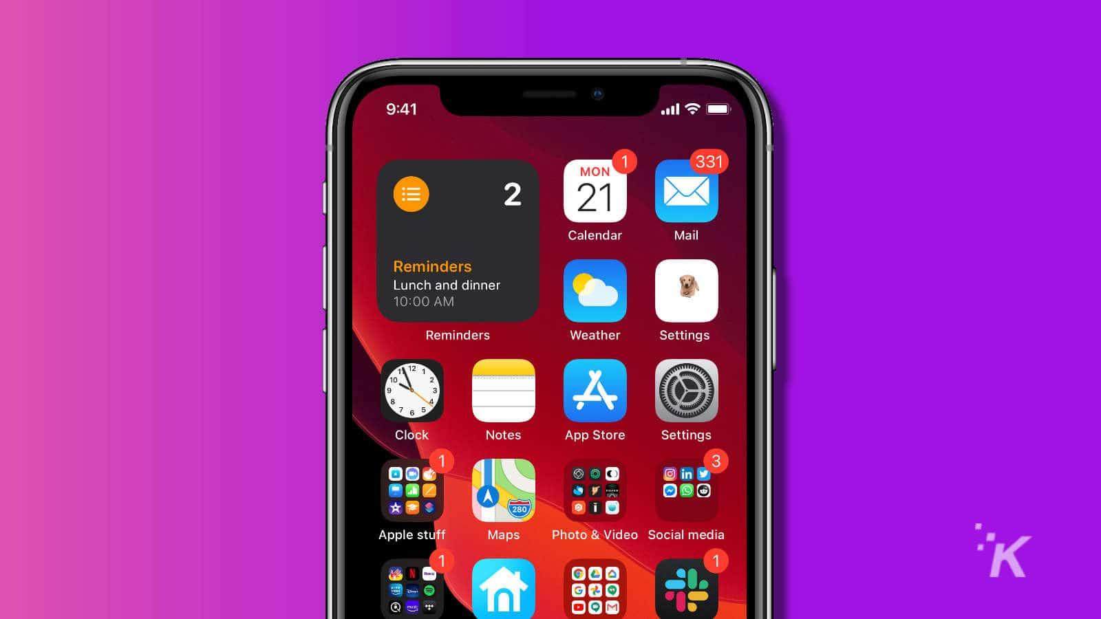 custom icon on iphone