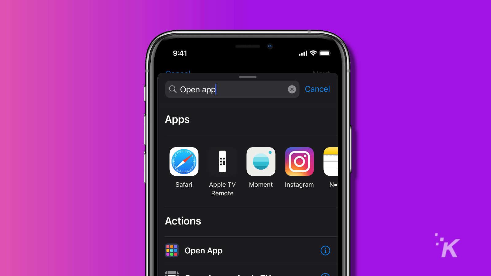 ios 14 shortcuts app