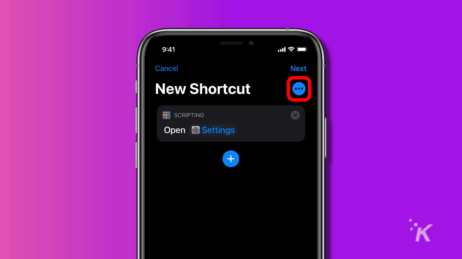 ios shortcuts app